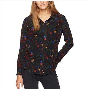 Tops - Baldwin Nora silk shirt in prairie print six XS